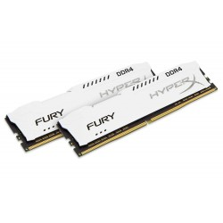 KINGSTON HX432C18FW2K2/16 Memoria Dimm Fury 16GB (2 x 8 GB) DDR4 3200 MHz CL18, Bianco - A+