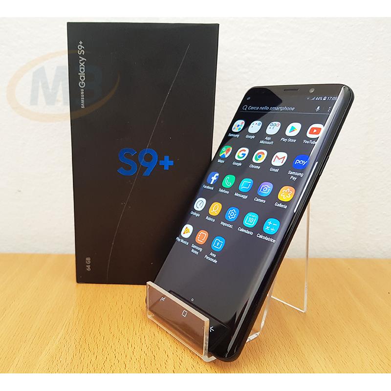 Samsung Galaxy S9+ DUOS 64 GB Midnight black