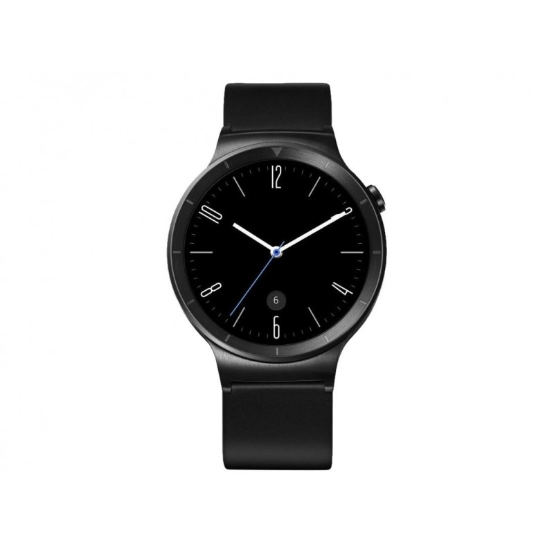 Huawei Watch Active - Nero, cinturino in pelle